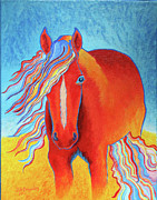 Donkey Foal Originals - Rainbow Fire by Jodi Bauter