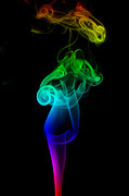 Gay Digital Art - Rainbow Flame by Alexander Butler