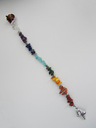 Hair Jewelry - Rainbow Hair Dangle by Tracy Kelly