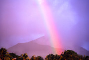 Thomas R. Fletcher Art - Rainbow over Dominica by Thomas R Fletcher