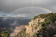 Elena Ingram - Rainbow Over Grand Canyon