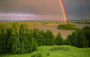 Elena Filatova - Rainbow over Katun river...