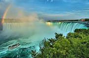 Adam Photos - Rainbow Over Niagara by Adam Jewell
