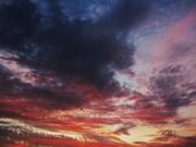 Rainbow Sky Print by Todd Sherlock