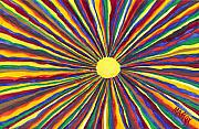 Sunshine Prints - Rainbow Sunshine Print by Tim Mattox