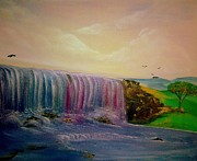 Nicole Champion - Rainbow waterfall