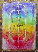 Rainbowbuddha Print by Joan Doyle