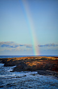 Rainbow Colors Framed Prints - Rainbows End Framed Print by Kelley King