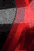 Abstractions - Raindrops and Cars by Robert Ullmann