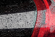Abstractions - Raindrops on Car by Robert Ullmann