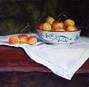 Jeanne Rosier Smith Metal Prints - Rainier Cherries Metal Print by Jeanne Rosier Smith