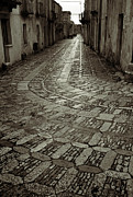 Platinum Prints - Raining in Erice Print by RicardMN Photography