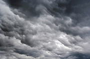 Leaden Sky Prints - Rainy Clouds Print by Michal Boubin