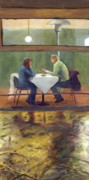 Inclement Paintings - Rainy Date by Peter Worsley
