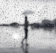 Shape Photo Prints - Rainy day Print by Setsiri Silapasuwanchai