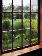 Designs By Susan Prints - Rainy Day Print by Susan Savad