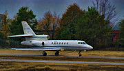 Lexington South Carolina Posters - Rainy Evening Departure Poster by Steven Richardson