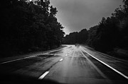 Storm Photos - Rainy Highway by Jennifer Brindley