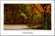 Onyonet Framed Prints - Rainy Morning Framed Print by  Onyonet  Photo Studios