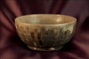 Bowl Ceramics Originals - Raku  by Andre Beauchamp
