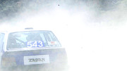 Race Drivers Photos - Rally Racing by Al Bourassa