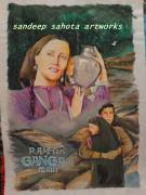 Chandler  Drawings - Ram Teri Ganga Mali by Sandeep Kumar Sahota