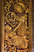 Ramayana Photo Prints - Ramayana Scene - Luang Probang Carriange House Print by Craig Lovell