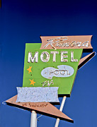 Route 66 Photos - Ramona Motel by Matthew Bamberg