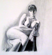 Inviting Drawings - Ramona My Dear by John Davis