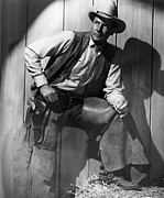 Mccrea Prints - Ramrod, Joel Mccrea, 1947 Print by Everett