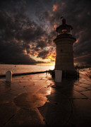 Lighthouse Digital Art - Ramsgate Lighthouse by Lee-Anne Rafferty-Evans