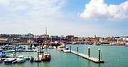 D200 Framed Prints - Ramsgate Marina Framed Print by Michael Stretton