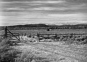 Slanec Photos - Ranch Road by Christian Slanec
