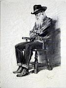 Old Drawings - Ranch Seller by Bob Duncan