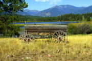 Ranch Wagon 3 Print by Marty Koch