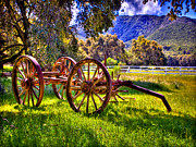 Farming Digital Art - Rancho Oso Wagon by Nadine and Bob Johnston
