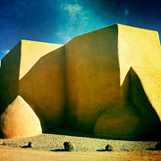 St. Francis Of Assisi Photos - Ranchos de Taos by Robert Tolchin