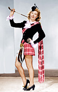 Plaid Skirt Prints - Random Harvest, Greer Garson, 1942 Print by Everett