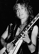 Live Performance Posters - Randy Rhoads, C. 1980 Poster by Everett
