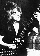 1980s Photo Prints - Randy Rhoads, C. 1981 Print by Everett