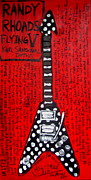 Randy Originals - Randy Rhoads Flying V by Karl Haglund