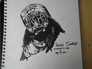 Randy Savage Art - Randy Savage by Mark Norman II
