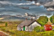 Rannoch Photo Prints - Rannoch Railway Station View Print by Chris Thaxter