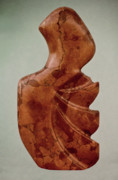 Variegated Sculpture Prints - Rapa Nua Print by Lonnie Tapia