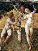 Knowledge Art - Raphael: Adam And Eve by Granger