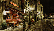 Night Cafe Photo Prints - Raphael Print by Torkil Storli
