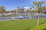Zurich Framed Prints - Rapperswil Framed Print by Joana Kruse