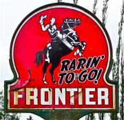 Metal Signs Digital Art Posters - Rarin To Go Poster by Gwyn Newcombe