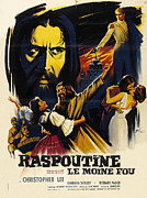 Horror Movies Posters - Rasputin The Mad Monk, Aka Raspoutine Poster by Everett