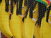 Banana Art Prints - Rasta Bananas Print by Robin Dickinson